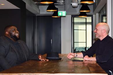 Havas Boost founder Gerald Appau-Bonsu (left) and Havas Media Group CEO Patrick Affleck