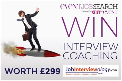 Win career coaching worth £299 to help you succeed in your event job interview