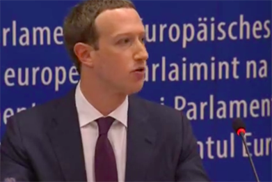 European Parliament wastes its chance to hold Facebook's Zuckerberg accountable
