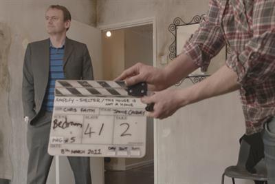 Sean Lock plays dodgy landlord in Shelter film
