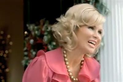 Amanda Holden signed for Tesco Christmas television blitz