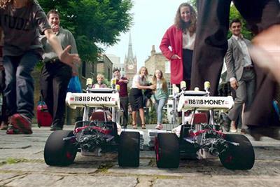 118 118 Money launches multimillion-pound TV campaign