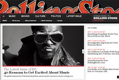 Rolling Stone puts paywall on website