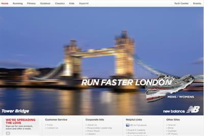 New Balance appoints Arnold to global creative account