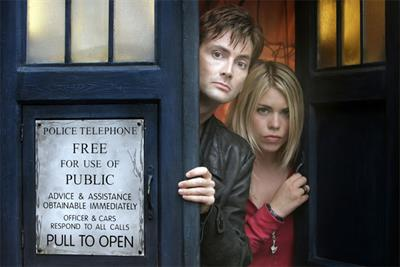 Facebook rents classic Doctor Who episodes
