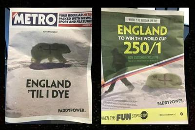 Paddy Power: why we decided to stoke outrage with a graffitied polar bear
