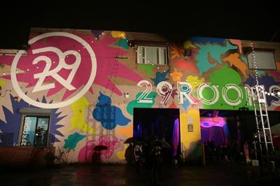 Ford creates glow-in-the-dark garden for New York Fashion Week
