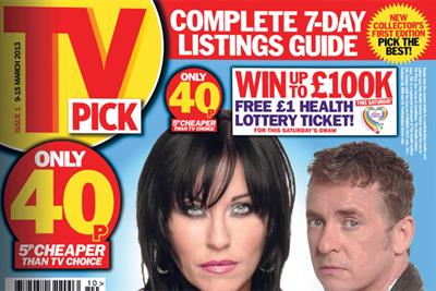 Northern & Shell's TV Pick closes after 22 issues