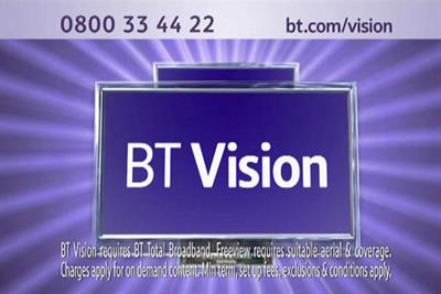 BT Vision subscriber push flops