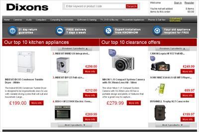 Dixons.co.uk website to close in retail reboot