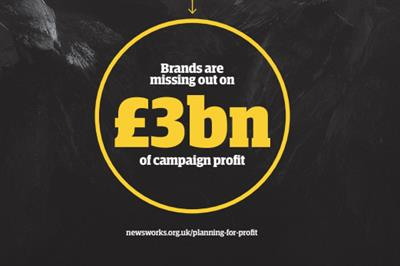 Brands 'missing out on £3bn profit' by ignoring newsbrands