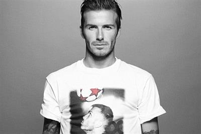The Beckhams design t-shirts for Sport Relief