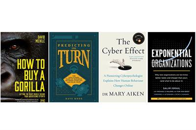 Four books for marketers in the mood for disruptive behaviour