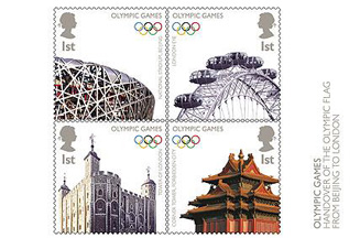 Royal Mail reveals London 2012 Olympics stamps