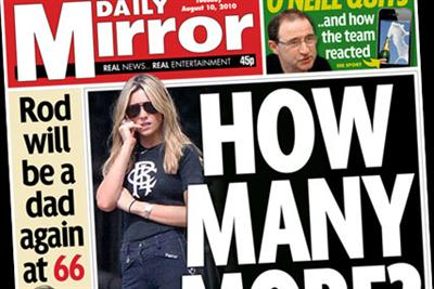 Paper Round (10 August) - Which clients are advertising in the national press?