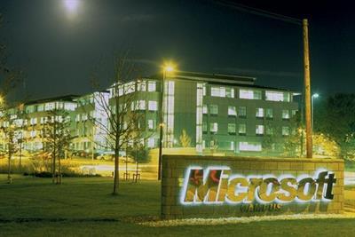 Microsoft calls $1bn media review in North America