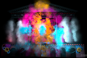 Seeper to create projection mapping for Asian dance event
