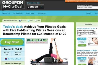 Groupon raises nearly $1bn investment