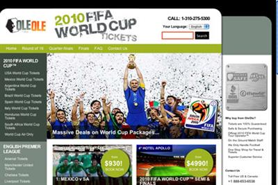 OleOle launches World Cup ticket drive