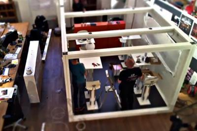 Appointment to View: Behind the scenes of the remote-controlled café