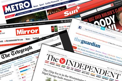 Newspaper ABCs: Digital figures for August 2014