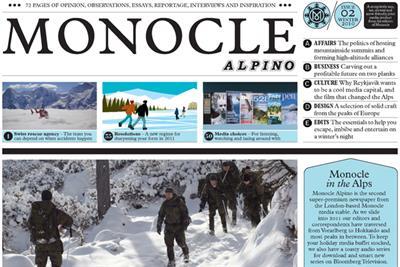 Monocle launches winter paper Monocle Alpino