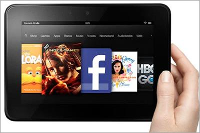 Amazon brings cut-price Kindle Fire tablet to UK