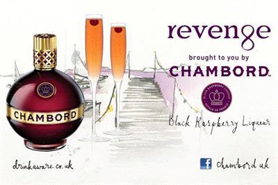 Chambord makes TV debut with E4's Revenge