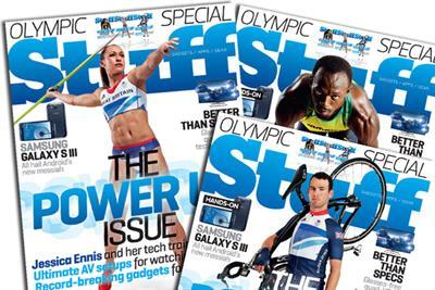 Usain Bolt, Jessica Ennis and Mark Cavendish become Stuff cover stars