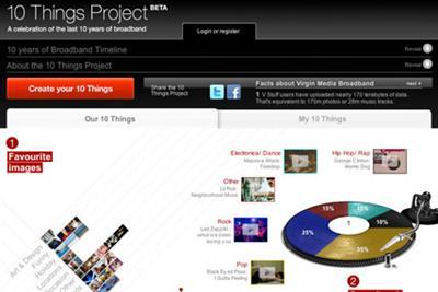 Virgin Media and Start celebrate 10 years of broadband