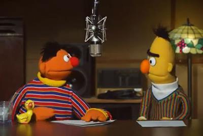Sesame Street's Bert & Ernie tackle satnav voiceovers