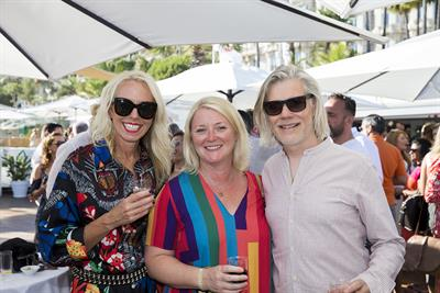 Adland gets together at Campaign Cannes party