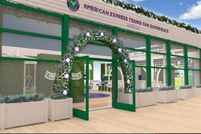 American Express: 'post-Covid events won't just be about brand trickery'