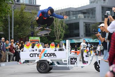 Adidas brings Das Day to Chinese skateboarders