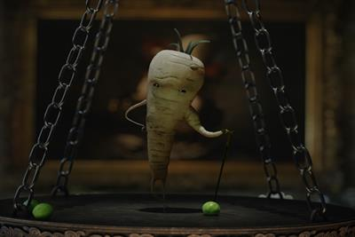 Aldi's Kevin the Carrot battles parsnip in festive campaign