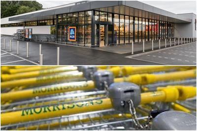 Morrisons no longer in 'big four' as Aldi muscles in
