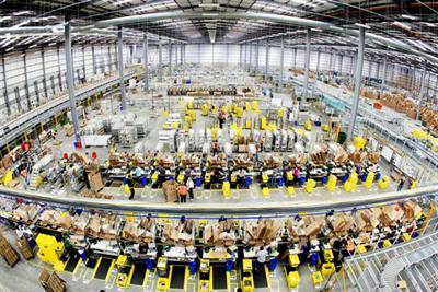 Amazon sales rocket 34%
