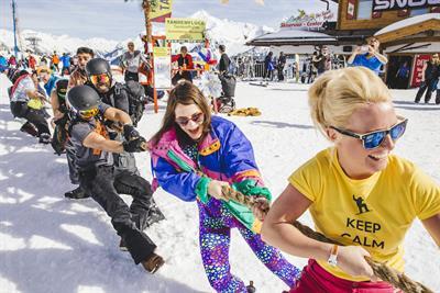 Three sponsors new venue at Snowbombing festival