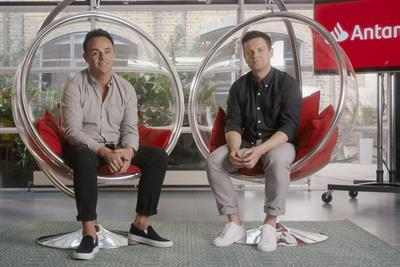 Turkey of the Week: Santander's Ant & Dec ad hangs by a thin thread
