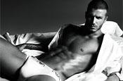 David Beckham strips off for Giorgio Armani ad