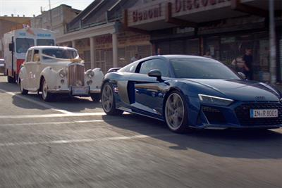 Audi breaks up a wedding in humorous campaign for the R8