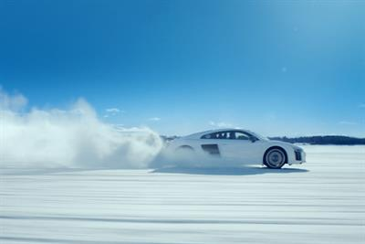 Audi unveils first Christmas campaign with snowy R8 spot