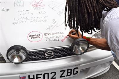 GyroHSR planner plots 10,000 mile road-trip in doodle car