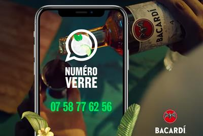 Bacardi hotline serves advice to home cocktail makers