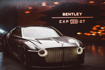 Bentley celebrates 100 years with 'vision of the future' experience