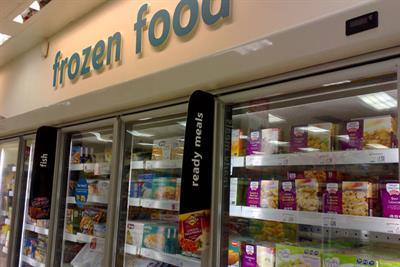 Agencies contest frozen-food brief