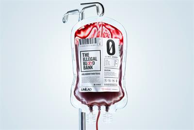 Unilad launches 'illegal blood bank' for gay and bisexual donors