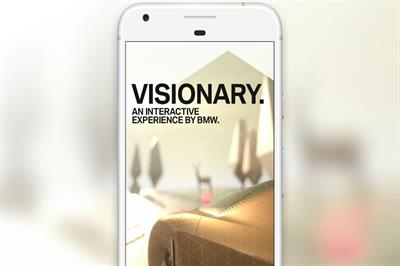 BMW showcases virtual reality brand experience