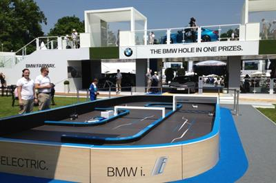 In pictures: TRO activates BMW sponsorship of PGA Championships
