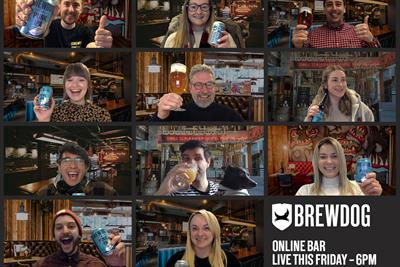 BrewDog creates online bar experience to encourage social distancing